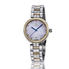New Fashion Diamond Quartz Stainless Steel Ladies Watch