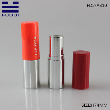 Wholesale round young girl lipstick tube for cosmetic