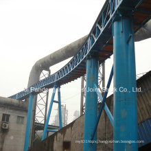 Pipe Belt Conveyor/Tubular Belt Conveyor Application in Steelworks