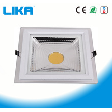 5W Square COB Glass Led Panel Light