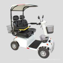 Dois Assentos Quatro Rodas Auto Scooter Elétrico Auto Balanceamento