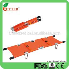 double-fold pole stretcher