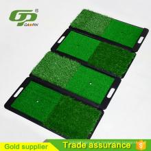 Estera de conducción de golf de plástico de alta calidad