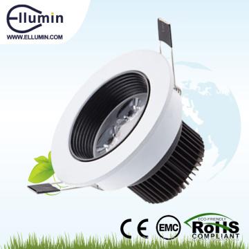 3w / 4W luz led blanca cálida