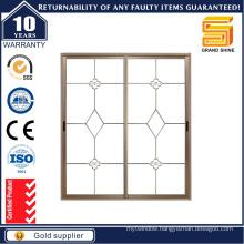 Latest Design Double Glazing Aluminum Sliding Window /Aluminium Window