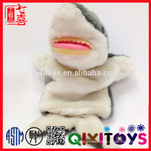 Children Love Sea Animal Design Custom Soft Cute Plush Fish Hand Puppet