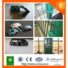 Powder coated wire mesh fence fastenings for sale