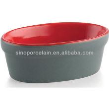 ROJO Tazón de fuente de cerámica mini del pudín para BS12085C