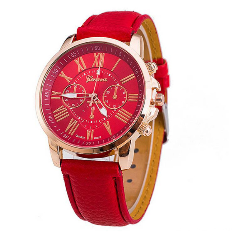 New Arrival Noble Ladies Leather Wrist Watch