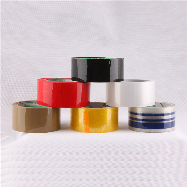 colored parcel tape