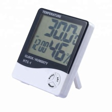 Digital Thermo Thermometer Hygrometer With Alarm Clock