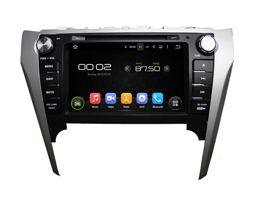 Toyata CAMRY  2012 Car dvd player