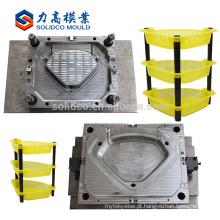 Bom molde plástico da cremalheira do molde plástico do serviço para a fábrica de China