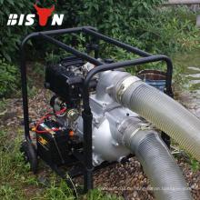 BISON China Taizhou 6inch Hochvolumen Bewässerung Diesel Generator Wasserpumpe