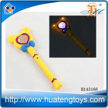 Оптовые проблесковые пластиковые Микки светодиодные до палочка Волшебная палочка для детей