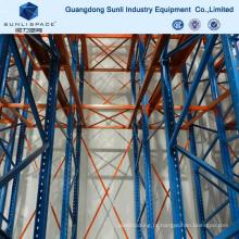 Unidade de armazenamento industrial resistente em rack