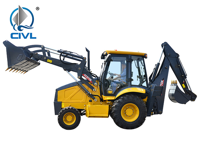 Xcmg Xc870k Chinese Wheel Excavator And Backhoe 05