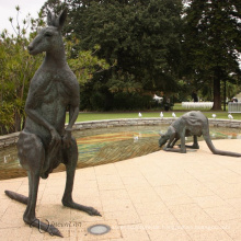 Themenpark Statue Metall Handwerk Bronze Garten Statuen Skulpturen