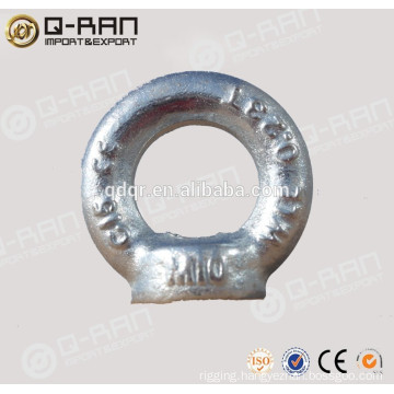 Rigging Galvanized DIN Type 580/582 Carbon Steel Bolt and Nut
