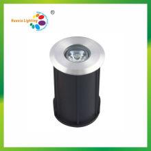 Lumière souterraine ronde de la qualité IP68 ronde de 1W IP68 LED