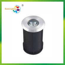 Ateel inoxidável 1W LED Inground luz com nicho ABS