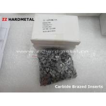 Carbide de tungstênio inserções indexáveis e pontas brasadas