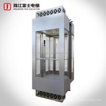 ZhuJiangFuJi Brand Passenger Lift Electrical Outdoor Residential Panoramic Elevators