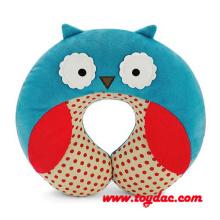 Gefüllte reine Baumwolle Owl Kissen
