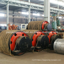 Pipe Conveyor Pulley / Pipe Conveyor Drum /Rubber Pulley