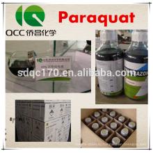 Горячий гербицид продажи Paraquat 42% TC 200g / L 20% SL CAS 1910-42-5
