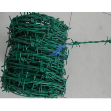 PVC Coated Barbed Wire for Wire Mesh (factory)