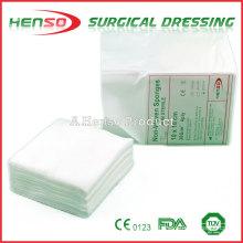 HENSO Y-Cut O-cut i-cut Esponjas de gaze não-tecidas
