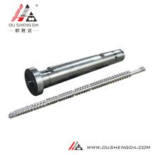 Einzelschnecke und Zylinder für Kunststoffblasmaschine