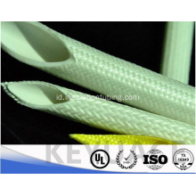 Isolasi fiberglass Silicone Rubber Coating sleeving