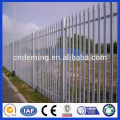 Price For W Profile Hot Dipped Galvanized Steel Palisade Fencing/Palisade Steel Fence