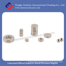 Super Strong Neodymium Magnet with Nickel Coating for Motor