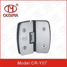 Vidrio de la forma del arco de 135 grados a la bisagra de puerta de cristal de la ducha con el certificado del SGS (CR-Y07)