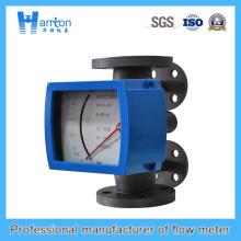 Vertikale Installation 316L Metallrohr Rotameter für Dn50-Dn100