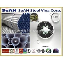 21.3mm- 219.1mm Tubo de acero galvanizado a ASTM y varios estándares exportados al mercado de Tailandia