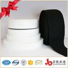 Bande élastique tricotée large adaptée aux besoins du client pour la ceinture
