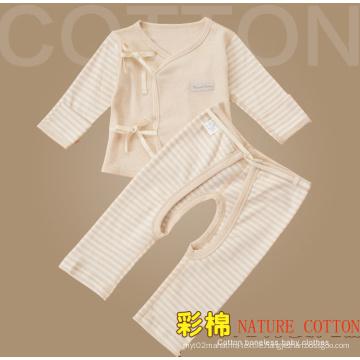 Nature Color Cotton Newborn Baby Cloth Set, Infant Clothing Set