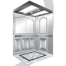 Aksen Mirror Etched Passenger Lift J0340