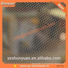 Malla de alambre de la pantalla de seguridad del acero inoxidable de 0.50mm para la ventana
