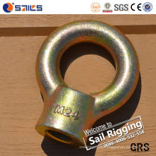 Carbon Steel Galvanized Forged JIS B1169 Lifting Eye Nut