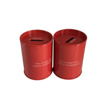 Round Coind Money Box Wholesale Factory Directly Custom Printing