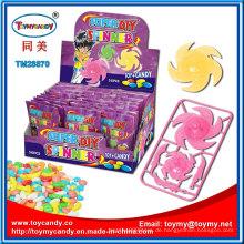Promotion Gyro Spinning Top Spielzeug mit Süßigkeiten