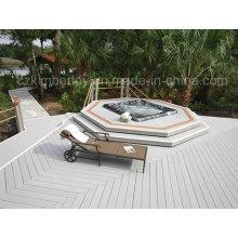 Hollow Waterproof WPC Decking Outdoor/Indoor WPC Flooring