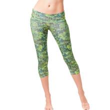 Calças da Mulher Esportes Personalizados Lady Capris Leggings