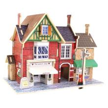 Brinquedos de colecção de madeira para casas globais-Tailândia Tailor's Shop