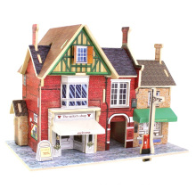 Wood Collectibles Spielzeug für Global Houses-Britain Tailor's Shop